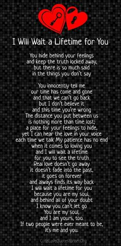 troubled relationship poems, this is when people need to be most understanding. Love takes time!♡