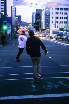 It's nice to just go out for a while and skate around town /Asiaskate/