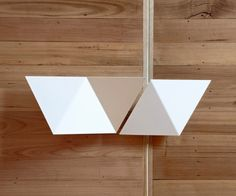 Origami Triangle door handles  leManoosh.com