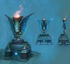 Temple Concept - Todd Harris - http://hog-heaven.blogspot.com/