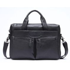 17-inch Waterproof Business Briefcase Tablet Shoulder Bag Large Capacity Leather Computer Bag Techecho Leather Laptop Briefcase Mens Travel Shoulder Bag for 17-inch Laptop Computer