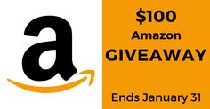 Win a $100 Amazon eGift Card. Giveaway ends on January 31! #Giveaway  https://wn.nr/QSGFS7