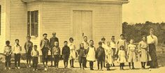 North falmouth school closeup 1906.