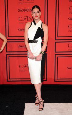 Hilary Rhoda - Arrivals at the CFDA Fashion Awards