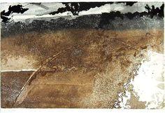 FAYGA OSTROWER Terra, dia e mês desconhecidos 1993, metal, 32,1 x 49,5 cm [mancha] / 56,4 x 72,7 cm [papel]