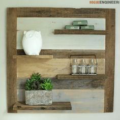 DIY Scrap Wood Shelf