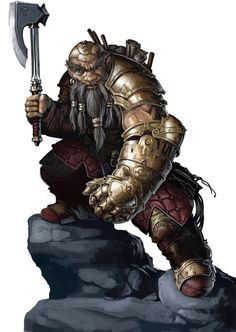 Self-forged Dwarf by BenWootten.deviantart.com on @deviantART