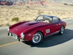 One of a kind Ferrari. From the Greg Garrison collection.