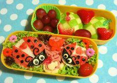 ladybug bento