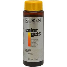 Redken Color Gels Permanent Conditioning Hair Color for Men, Maple, 2 Ounce. Color gels provides exceptional gray coverage. 100 percent authentic. Hair is left in superior condition.