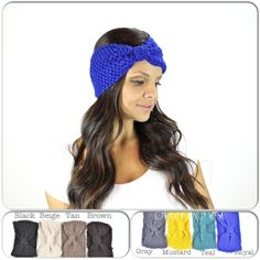 Crochet Sparrow Turban head wrap boho headwrap by TheRitzBoutique, $9.99