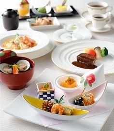ウエディング 料理・ケーキ 仏蘭西会席(和洋折衷)|最高の結婚式場での結婚式・ウエディングをお考えなら東京のホテル椿山荘東京で。【公式サイト】