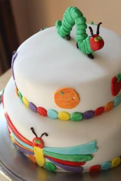 """""""the very hungry caterpillar"""" birthday party"""