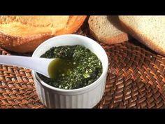 Vídeo Receita - Como Fazer Molho Pesto