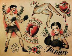 Risultati immagini per tatuaggio old school
