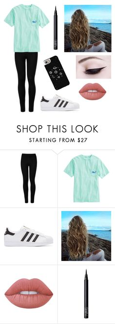 """Basic"" by sav16 ❤ liked on Polyvore featuring Wolford, Vineyard Vines, adidas Originals, Lime Crime, NARS Cosmetics and Casetify"