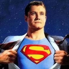 The original TV Superman, George Reeves