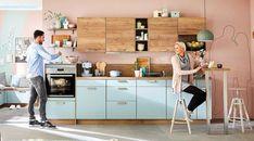 Vito, Küchen zum Leben - Leiner Vito, Chrome, Bar, Black And White, Modern, Furniture, Home Decor, Custom Kitchens, Ad Home