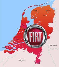 La Hollande, l'autre pays de... Fiat