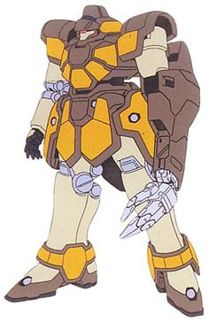 The WMS-03 Maganac Auda Custom is an Arabic produced ground mobile suit. It was featured in Mobile Suit Gundam Wing.