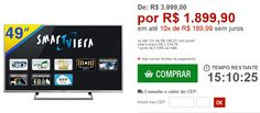 Smart TV LED 49 Panasonic Full HD com Painel IPS WiFi Integrado Função My Home Screen Conexões HDMI e USB << R$ 189990 em 10 vezes >>