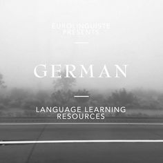 Interested in learning German? Check out our collection of German language learning resources with audio, text, and more. Foreign Language Teaching, German Language Learning, Teaching Spanish, Spanish Activities, Teaching French, Spanish Language, Study German, Learn German, Learn French