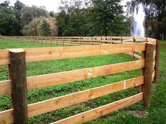 4-Rail Horse Fencing
