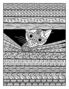 «Кототерапия. Раскраска-зендудл» Янина Миронова - купить книгу «Кототерапия. Раскраска-зендудл» в Минске — OZ.by