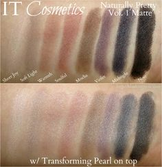 Naturally Pretty Essentials Matte Luxe Transforming Eyeshadow Palette by IT Cosmetics #21