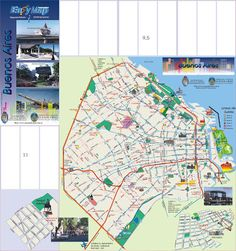 Danielmuz: MAPA CIUDAD DE BUENOS AIRES | TANGO CITY |