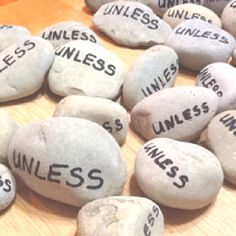 Lorax unless rocks... I need to make a bunch of these and put them in random places, everywhere I go!