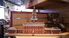 A 3-D puzzle of Independence Hall!