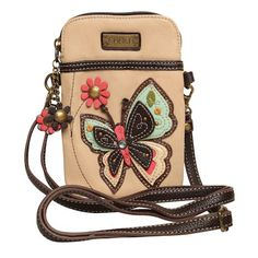 Chala Colorful Critters Three-in-one Crossbody Bags - Grand Lady Butterfly Little Girl Jewelry, Girls Jewelry, Cute Purses, Purses And Bags, Waist Pouch, Leather Bags Handmade, Cute Bags, Cross Body Handbags, Crossbody Bags