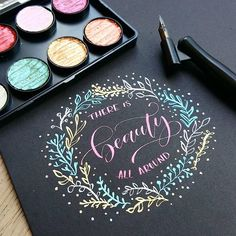 There is Beauty in Everything @minortismay - Daily typography love - #typostrate -  typostrate.com