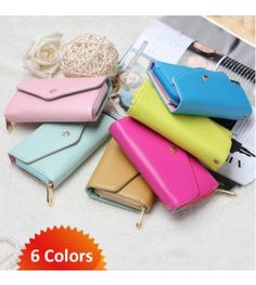 3-in-1 Envelope Wallet - Purse, Phone Case & Wallet in One - Now a Whopping 69% Off Retail! Use it as a purse, wallet or to carry your phone!  Order today at Clearance.co #wallets #iphones #accessories #women #fashion #storage #phonecase #sale #clearance.co