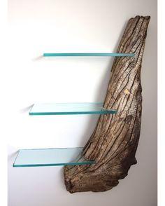 Driftwood Shelf by Craig Kimm  via @homeadore --- #homeadore #design #designer #furniture #walldecor #shelf #driftwood #indoor #instahome #instadesign #architect #beautiful #home #homedecor #decor #decoration #interiordesign #interior #interiors #style #luxury #beautiful #product