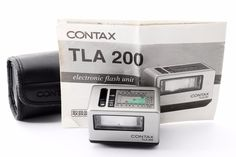 CONTAX TLA200 Shoe Mount Flash for G1 G2 Camera [Exellent+] from Japan F/S #Contax
