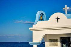 Saint apostoloi church Rhodes faliraki Zorba The Greek, Greek Islands, Fisher, Sailing, Greece, In This Moment, Tattoo, Mirror, Wedding