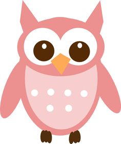 Rose Pink Owl Clip Art Vector Online Royalty Free