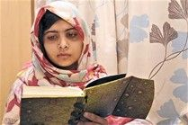 Malala Yousafzai - I like this image of Malala just for the fact it shows he reading.