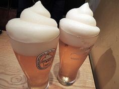 Frozen beer from Itaewon