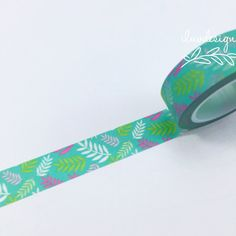 Flower Washi Tape. This tape is perfect for all paper projects! Use as a border to make unique scrapbook pages! This tape has the perfect amount of adhesive; letting the tape hold firm when it needs t