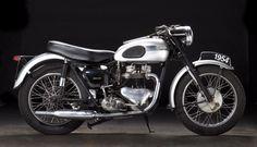 1954 Triumph Tiger Frame no. 03383 Engine no. British Motorcycles, Cool Motorcycles, Vintage Motorcycles, Standard Motorcycles, Scooters, Triumph 650, Triumph Motorcycles, Classic Bikes, Classic Cars
