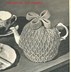 Smocked Tea Cosy Vintage Knitting PATTERN - Cozy | eBay More
