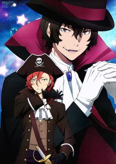 My aesthetic is Chuuya pulling his gloves off with his teeth