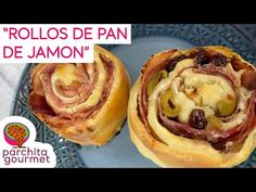 Rollitos de Pan de Jamon Venezolanos: Mucho jamon tostadito - YouTube