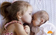 Besties: Jenna recently revealed on the Today show that Mila 'can't stop kissing' her baby sister
