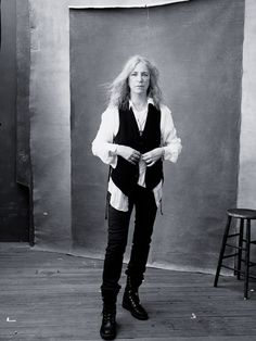 Patti Smith   for Pirelli Calendar 2016   Showing Women at Their Strongest, Most Badass Selves
