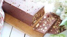 Blok czekoladowy najlepszy przepis | Kotlet.TV Fudge Recipes, Chocolate Recipes, Cake Recipes, Paleo Dessert, Condensed Milk Cake, Savory Tart, Polish Recipes, Polish Food, Food Cakes