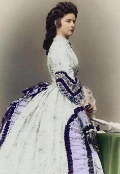 "Empress Elisabeth of Austria, ""Sisi"", due to the movie also now known as ""Sissi"", (1837-1898)"